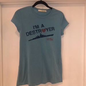 Mighty Fine | Destroyers T-shirt (NEW)